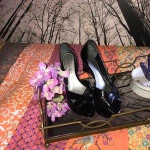 Black peep toe Jones New York-9